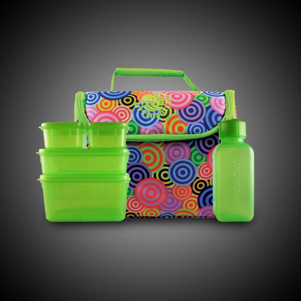 Green Lunch Bag